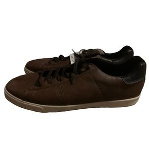 H&M Chocolate Brown Canvas Sneakers! NWT!